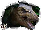 T-Rex 46x34 inch Large Fabric Wall Decor