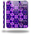 Daisies Purple - Decal Style Vinyl Skin (fits Apple Original iPhone 5, NOT the iPhone 5C or 5S)
