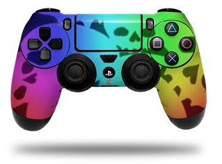 Vinyl Skin Wrap for Sony PS4 Dualshock Controller Rainbow Skull Collection (CONTROLLER NOT INCLUDED)