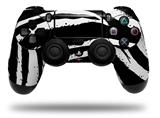 Vinyl Skin Wrap for Sony PS4 Dualshock Controller Zebra (CONTROLLER NOT INCLUDED)