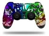 Vinyl Skin Wrap for Sony PS4 Dualshock Controller Rainbow Graffiti (CONTROLLER NOT INCLUDED)