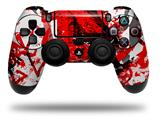 Vinyl Decal Skin Wrap compatible with Sony PlayStation 4 Dualshock Controller Red Graffiti (PS4 CONTROLLER NOT INCLUDED)