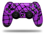 Vinyl Skin Wrap for Sony PS4 Dualshock Controller Ripped Fishnets Purple (CONTROLLER NOT INCLUDED)