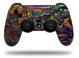 Vinyl Skin Wrap for Sony PS4 Dualshock Controller Fire And Water (CONTROLLER NOT INCLUDED)