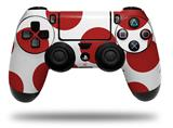 Vinyl Skin Wrap for Sony PS4 Dualshock Controller Kearas Polka Dots Brick (CONTROLLER NOT INCLUDED)