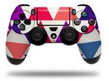 Vinyl Skin Wrap for Sony PS4 Dualshock Controller Triangles Berries (CONTROLLER NOT INCLUDED)