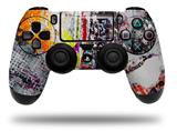 Vinyl Skin Wrap for Sony PS4 Dualshock Controller Abstract Graffiti (CONTROLLER NOT INCLUDED)