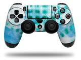 Vinyl Skin Wrap for Sony PS4 Dualshock Controller Electro Graffiti Blue (CONTROLLER NOT INCLUDED)