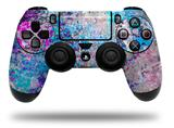 Vinyl Skin Wrap for Sony PS4 Dualshock Controller Graffiti Splatter (CONTROLLER NOT INCLUDED)