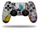 Vinyl Skin Wrap for Sony PS4 Dualshock Controller Urban Graffiti (CONTROLLER NOT INCLUDED)