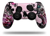 Vinyl Skin Wrap for Sony PS4 Dualshock Controller Pink Skull (CONTROLLER NOT INCLUDED)