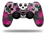 Vinyl Skin Wrap for Sony PS4 Dualshock Controller Princess Skull Heart Pink (CONTROLLER NOT INCLUDED)