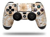 Vinyl Decal Skin Wrap compatible with Sony PlayStation 4 Dualshock Controller Flowers Pattern 15 (PS4 CONTROLLER NOT INCLUDED)
