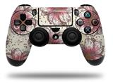 Vinyl Decal Skin Wrap compatible with Sony PlayStation 4 Dualshock Controller Flowers Pattern 23 (PS4 CONTROLLER NOT INCLUDED)