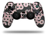 Vinyl Skin Wrap for Sony PS4 Dualshock Controller Locknodes 02 Pink (CONTROLLER NOT INCLUDED)