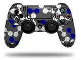 Vinyl Skin Wrap for Sony PS4 Dualshock Controller Locknodes 04 Royal Blue (CONTROLLER NOT INCLUDED)