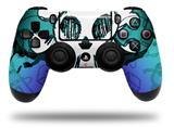 Vinyl Skin Wrap for Sony PS4 Dualshock Controller Cartoon Skull Rainbow (CONTROLLER NOT INCLUDED)