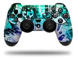 Vinyl Skin Wrap for Sony PS4 Dualshock Controller Scene Kid Sketches Rainbow (CONTROLLER NOT INCLUDED)