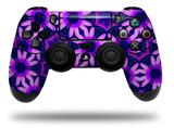 Vinyl Skin Wrap for Sony PS4 Dualshock Controller Daisies Purple (CONTROLLER NOT INCLUDED)