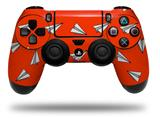 Vinyl Decal Skin Wrap compatible with Sony PlayStation 4 Dualshock Controller Paper Planes Red (PS4 CONTROLLER NOT INCLUDED)