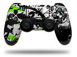 Vinyl Skin Wrap for Sony PS4 Dualshock Controller Baja 0018 Lime Green (CONTROLLER NOT INCLUDED)