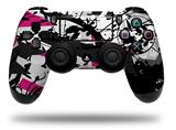 Vinyl Skin Wrap for Sony PS4 Dualshock Controller Baja 0018 Fuchsia Hot Pink (CONTROLLER NOT INCLUDED)