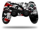 Vinyl Skin Wrap for Sony PS4 Dualshock Controller Baja 0018 Red (CONTROLLER NOT INCLUDED)