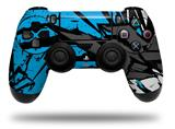 Vinyl Decal Skin Wrap compatible with Sony PlayStation 4 Dualshock Controller Baja 0040 Blue Medium (PS4 CONTROLLER NOT INCLUDED)