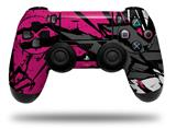 Vinyl Skin Wrap for Sony PS4 Dualshock Controller Baja 0040 Fuchsia Hot Pink (CONTROLLER NOT INCLUDED)