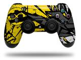 Vinyl Skin Wrap for Sony PS4 Dualshock Controller Baja 0040 Yellow (CONTROLLER NOT INCLUDED)