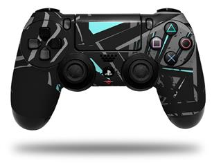 Vinyl Skin Wrap for Sony PS4 Dualshock Controller Baja 0023 Neon Teal (CONTROLLER NOT INCLUDED)