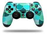 Vinyl Skin Wrap for Sony PS4 Dualshock Controller Scales Blue Green (CONTROLLER NOT INCLUDED)