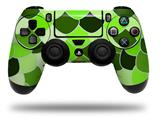 WraptorSkinz Skin compatible with Sony PS4 Dualshock Controller PlayStation 4 Original Slim and Pro Scales Green (CONTROLLER NOT INCLUDED)