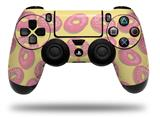Vinyl Skin Wrap for Sony PS4 Dualshock Controller Donuts Yellow (CONTROLLER NOT INCLUDED)
