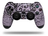 Vinyl Skin Wrap for Sony PS4 Dualshock Controller Folder Doodles Lavender (CONTROLLER NOT INCLUDED)