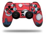 Vinyl Skin Wrap for Sony PS4 Dualshock Controller Starfish and Sea Shells Coral (CONTROLLER NOT INCLUDED)