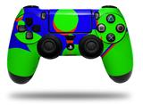 Vinyl Decal Skin Wrap compatible with Sony PlayStation 4 Dualshock Controller Drip Blue Green Red (PS4 CONTROLLER NOT INCLUDED)