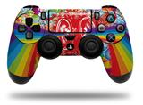 Vinyl Skin Wrap for Sony PS4 Dualshock Controller Rainbow Music (CONTROLLER NOT INCLUDED)