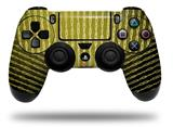 Vinyl Skin Wrap for Sony PS4 Dualshock Controller Binary Rain Yellow (CONTROLLER NOT INCLUDED)