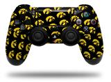 Vinyl Decal Skin Wrap compatible with Sony PlayStation 4 Dualshock Controller Iowa Hawkeyes Tigerhawk Tiled 06 Gold on Black (PS4 CONTROLLER NOT INCLUDED)