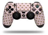 Vinyl Skin Wrap for Sony PS4 Dualshock Controller Gold Fleur-de-lis (CONTROLLER NOT INCLUDED)