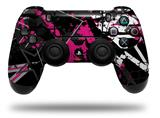 Vinyl Decal Skin Wrap compatible with Sony PlayStation 4 Dualshock Controller Baja 0003 Hot Pink (PS4 CONTROLLER NOT INCLUDED)