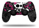 Vinyl Skin Wrap for Sony PS4 Dualshock Controller Girly Skull Bones (CONTROLLER NOT INCLUDED)