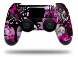 Vinyl Skin Wrap for Sony PS4 Dualshock Controller Pink Star Splatter (CONTROLLER NOT INCLUDED)