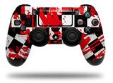 Vinyl Skin Wrap for Sony PS4 Dualshock Controller Checkerboard Splatter (CONTROLLER NOT INCLUDED)