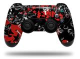 WraptorSkinz Skin compatible with Sony PS4 Dualshock Controller PlayStation 4 Original Slim and Pro Emo Graffiti (CONTROLLER NOT INCLUDED)