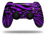 Vinyl Skin Wrap for Sony PS4 Dualshock Controller Purple Zebra (CONTROLLER NOT INCLUDED)