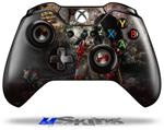 Decal Skin Wrap fits Microsoft XBOX One Wireless Controller Exterminating Angel