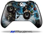 Decal Skin Wrap fits Microsoft XBOX One Wireless Controller Heptameron