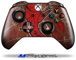 Decal Skin Wrap fits Microsoft XBOX One Wireless Controller Red Right Hand